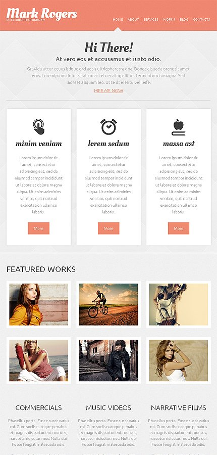 WordPress Theme/Template 46730 Main Page Screenshot