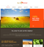 Agriculture WordPress Template 46731