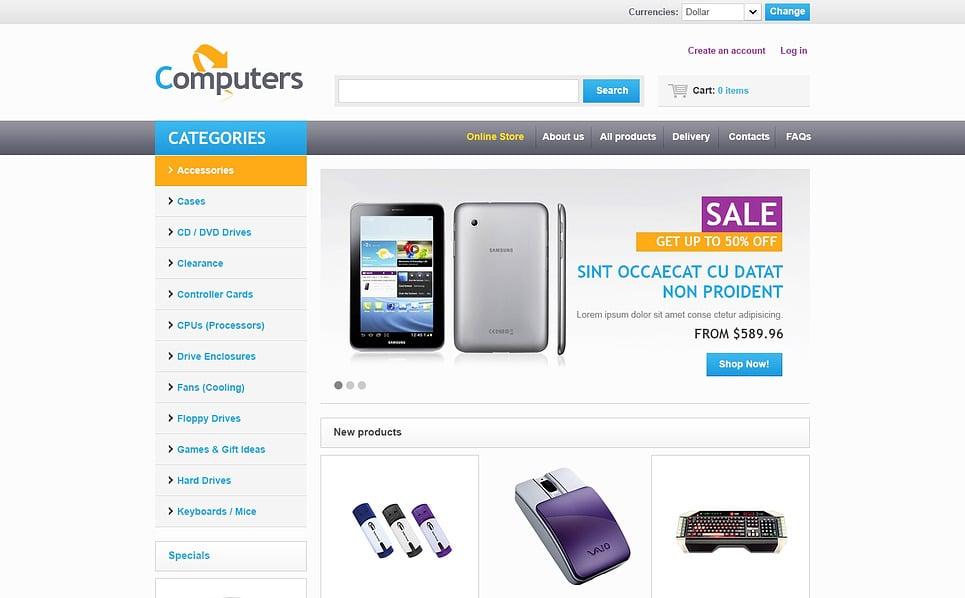 VirtueMart Template over Computer Winkel  New Screenshots BIG