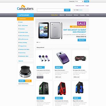 Купить  пофессиональные VirtueMart шаблоны. Купить шаблон #46735 и создать сайт.