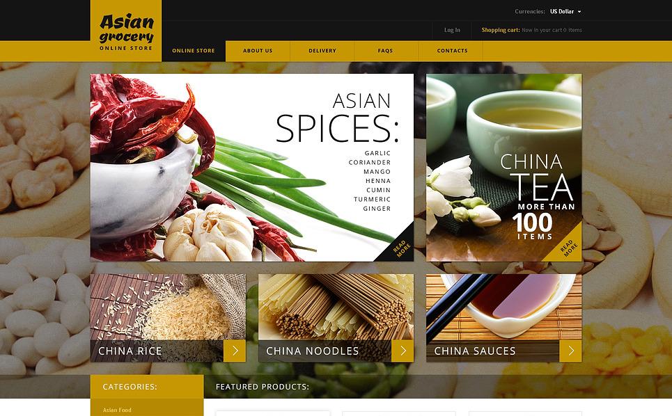 VirtueMart šablona Prodejna potravin New Screenshots BIG