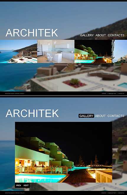 ADOBE Photoshop Template 46748 Home Page Screenshot