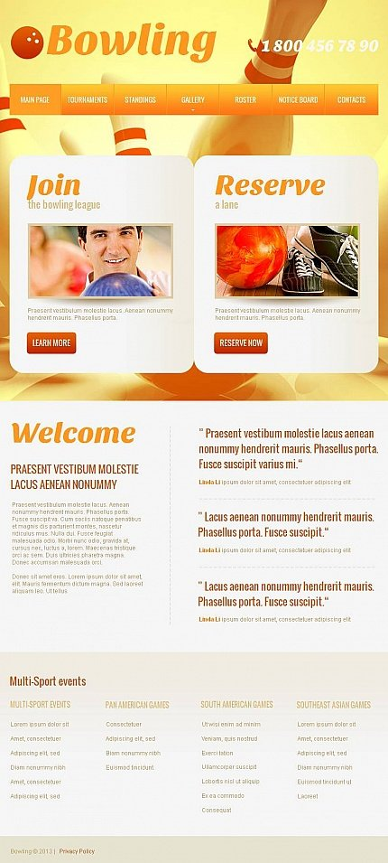 ADOBE Photoshop Template 46762 Home Page Screenshot
