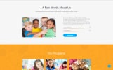 Responsive Kidsy - Learning Center Multipage Clean HTML5 Web Sitesi Şablonu