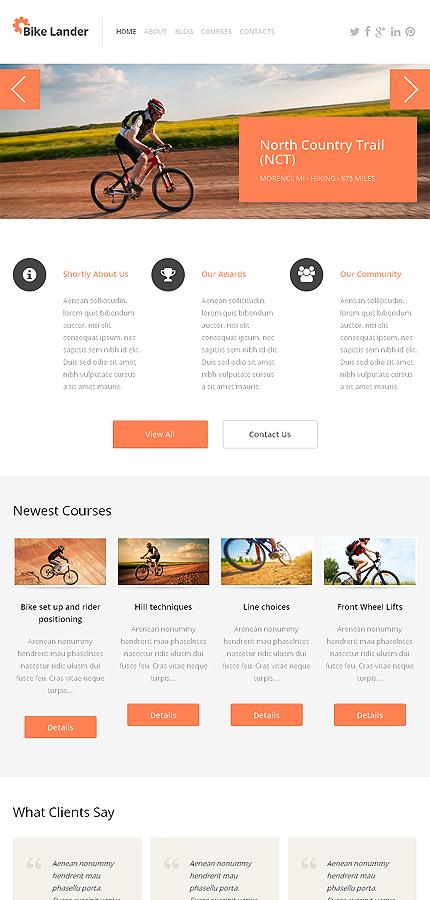 WordPress Theme/Template 46783 Main Page Screenshot