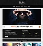 Music WordPress Template 46784