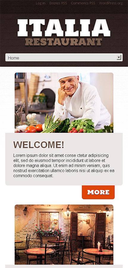 WordPress Theme/Template 46785 Main Page Screenshot