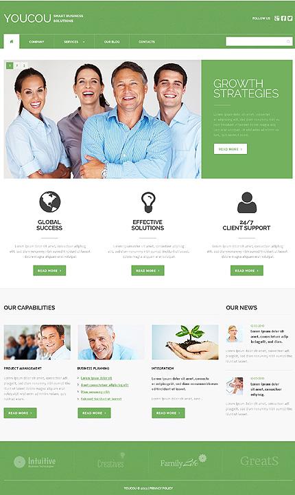 WordPress Theme/Template 46786 Main Page Screenshot