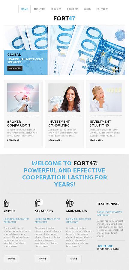 WordPress Theme/Template 46788 Main Page Screenshot