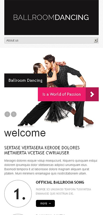 WordPress Theme/Template 46792 Main Page Screenshot