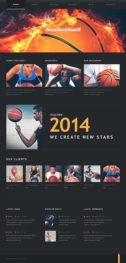 WordPress Theme/Template 46793 Main Page Screenshot