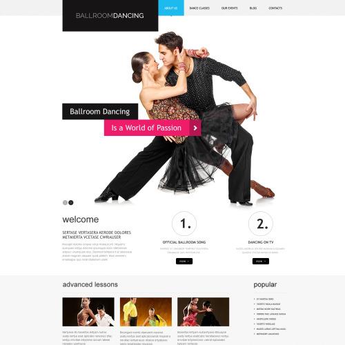 Ballroomdancing - WordPress Template based on Bootstrap