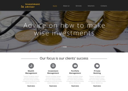 Investment Company Responsive