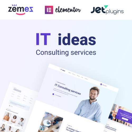 ITIDEAS - Responsive WordPress Template