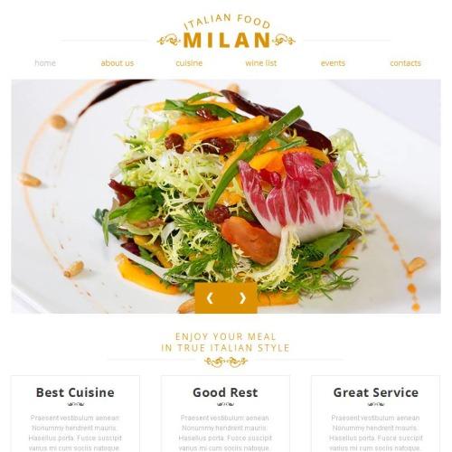 Milan - Facebook HTML CMS Template