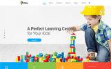 """Kidsy - Learning Center Multipage Clean HTML5"" modèle web adaptatif"