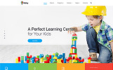 """Kidsy - Learning Center Multipage Clean HTML5"" Responsive Website template"