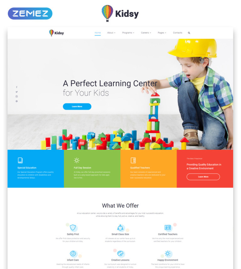 Learning Center Multipage Html5 Template