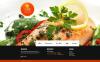 Luxusní Moto CMS HTML šablona na téma Rybí Restaurace New Screenshots BIG