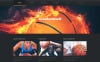Modello WordPress Responsive #46793 per Un Sito di Pallacanestro New Screenshots BIG