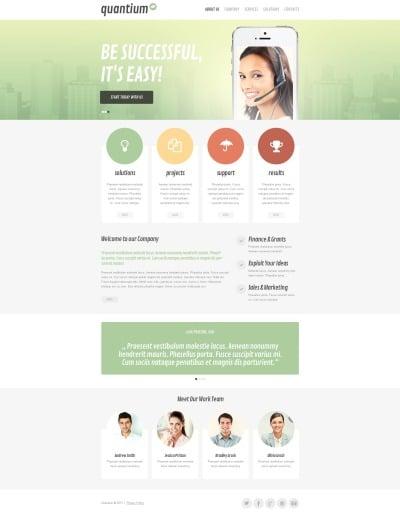 Plantilla Moto CMS HTML #46737 para Sitio de  para Sitio de Sociedades gestoras
