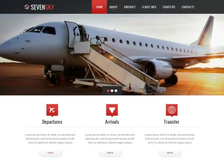 Private Airline Responsive