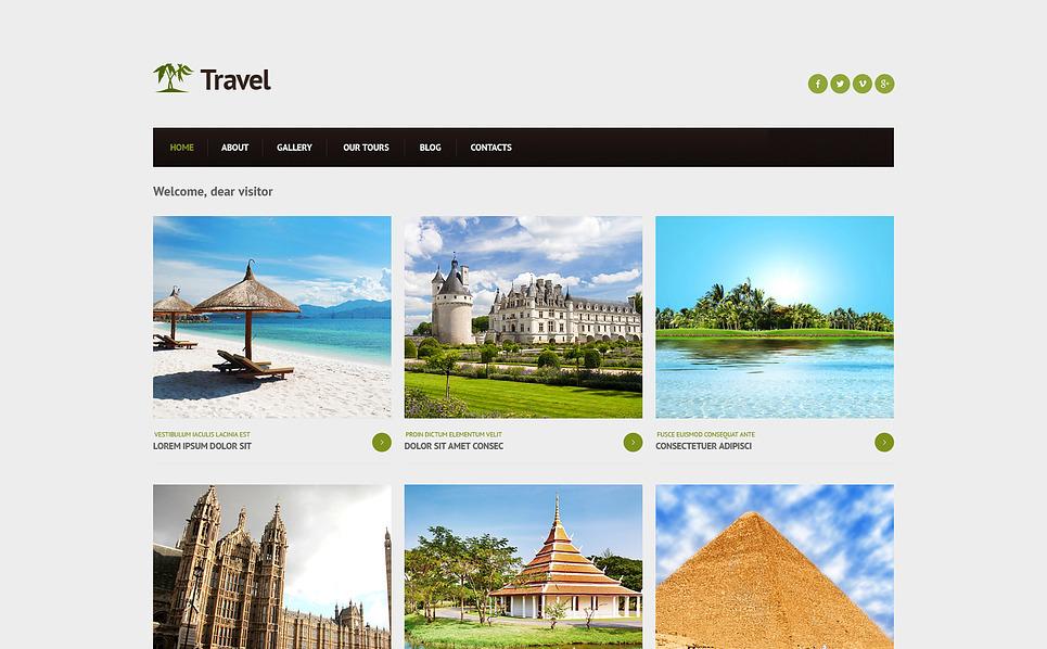 Responsywny szablon Joomla #46706 na temat: biuro podróży i turystyki New Screenshots BIG