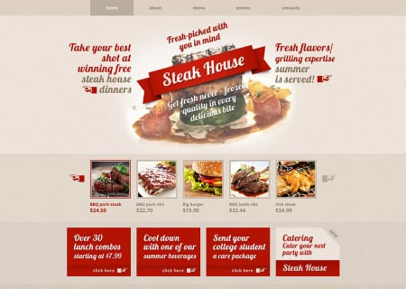 Steakhouse Responsive