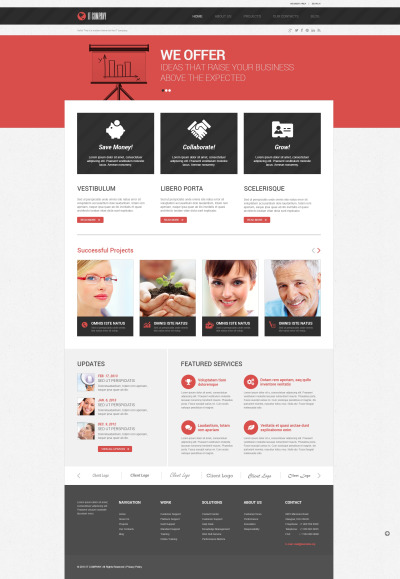 Symbolic IT WordPress Theme #46729