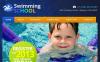 Szablon Facebook HTML CMS #46776 na temat: pływanie New Screenshots BIG