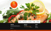 Tema Moto CMS HTML  #46746 per Un Sito di Ristorante Frutti di Mare New Screenshots BIG
