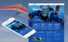 Template Moto CMS HTML  #46756 per Un Sito di Sport Estremi New Screenshots BIG