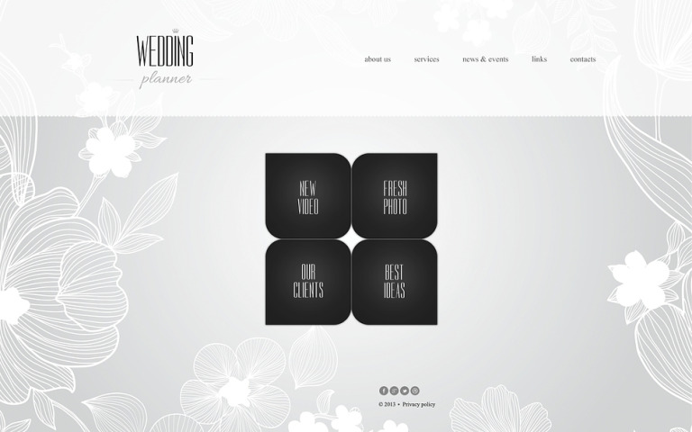 Wedding Planner Website Template New Screenshots BIG