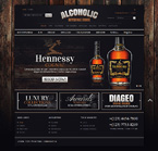 Food & Drink osCommerce  Template 46814