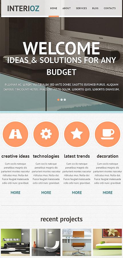 Joomla Theme/Template 46815 Main Page Screenshot