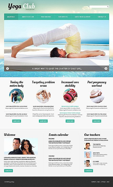 Joomla Theme/Template 46830 Main Page Screenshot