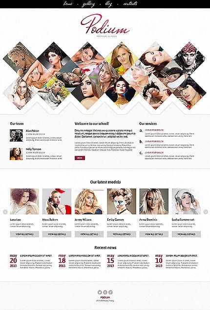 Joomla Theme/Template 46832 Main Page Screenshot