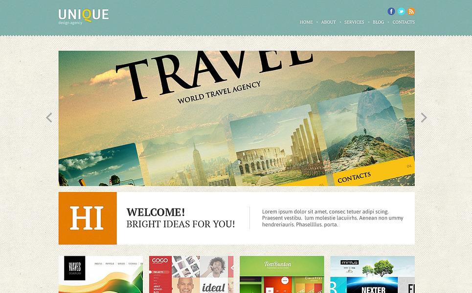 Tema Joomla Responsive #46833 per Un Sito di Design Studio New Screenshots BIG