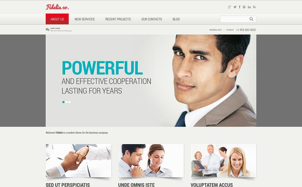 Template Joomla Flexível para Sites de Empresa de Administração №46837 New Screenshots BIG