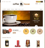 Cafe & Restaurant PrestaShop Template 46849