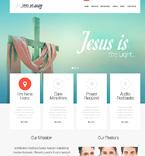 Religious WordPress Template 46852
