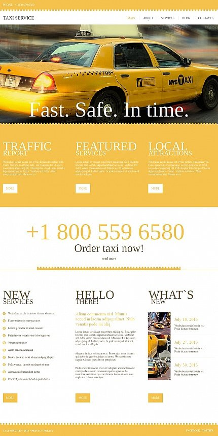 ADOBE Photoshop Template 46861 Home Page Screenshot