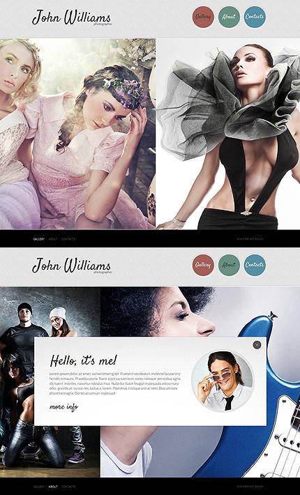 ADOBE Photoshop Template 46863 Home Page Screenshot