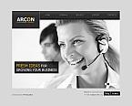 Communications Moto CMS HTML  Template 46865