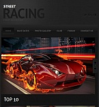 Cars Facebook HTML CMS  Template 46876