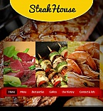 Cafe & Restaurant Facebook HTML CMS  Template 46891