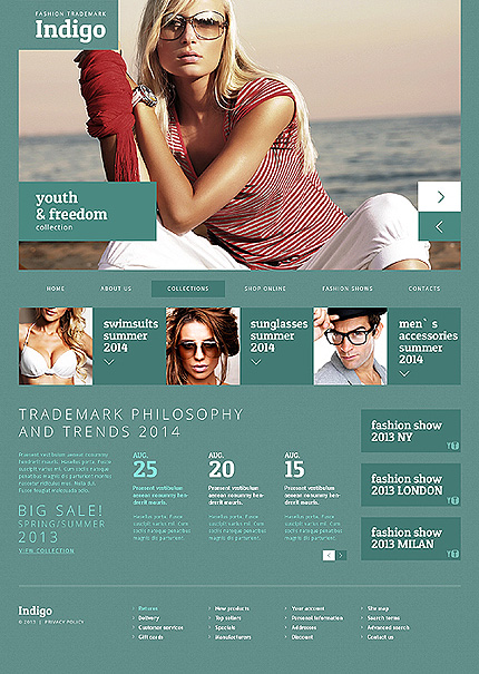 Joomla Theme/Template 46899 Main Page Screenshot