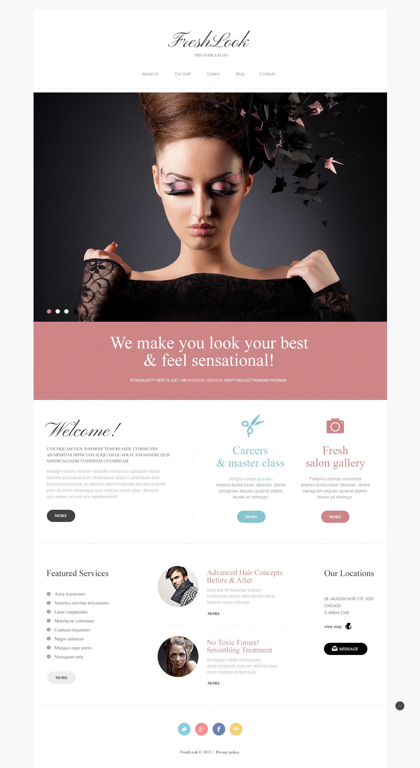 Beauty Salon №46831