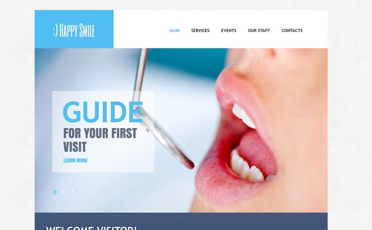 Dental Care Drupal Template