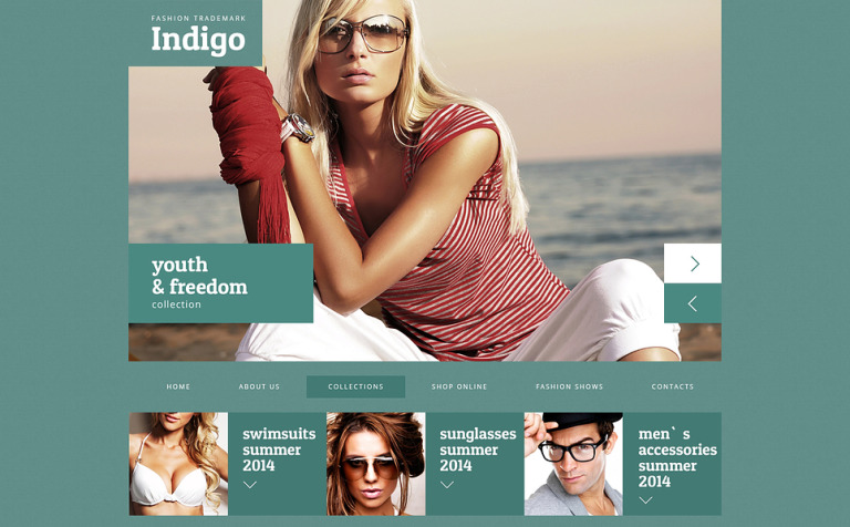 Fashionable Blog Design Joomla Template